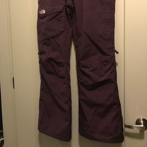 North Face ski pants - barely used!